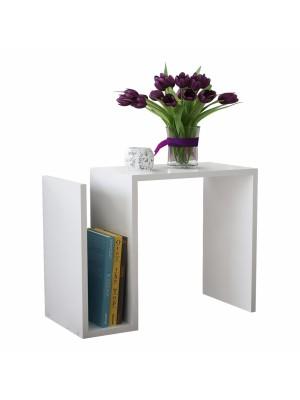 Бяла холна маса с модернистичен дизайн HM8879.01