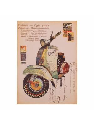 Картина принт мотоциклет HM7153.07