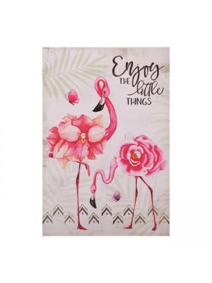 Картина фламинго HM7154.16 60X90X2.5 cm.