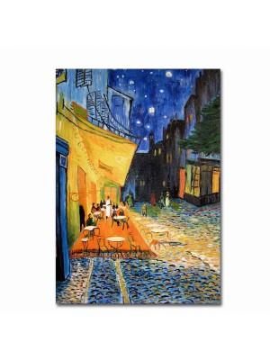 Картина принт вечер в ресторант HM7194.03