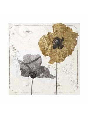 Картина принт златни цветя HM7199.02