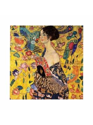 Картина принт LADY WITH FAN-GUSTAV KLIMT HM7199.04