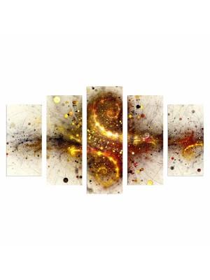 Картина пано от 5 елемента EXPLOSION HM7206.07