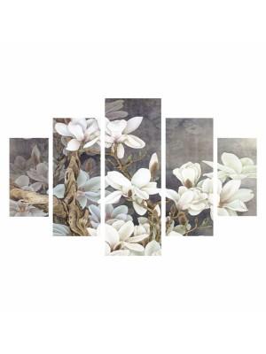 Картина пано от 5 елемента MAGNOLIA KOBUS HM7207.01