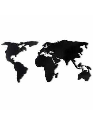 Стенно метално пано карта на света HM7209