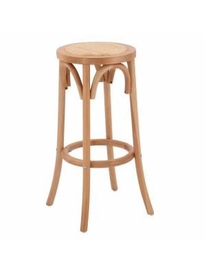 Дъвен буков бар стол в естествен цвят HM8751.01