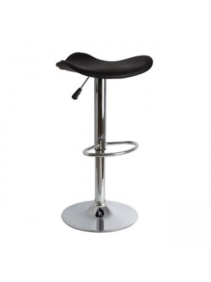 Bar Stool HM201.01 Black PU with gas lift