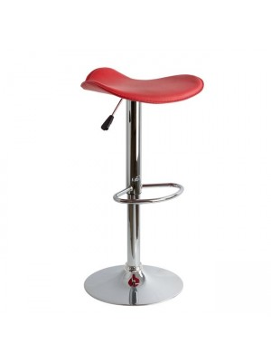 Bar Stool HM201.04 red PU with gas lift