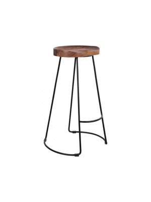 Bar Stool HM8363 acacia wood