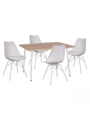 Комплект маса с 4 стола Vegas HM11023.31