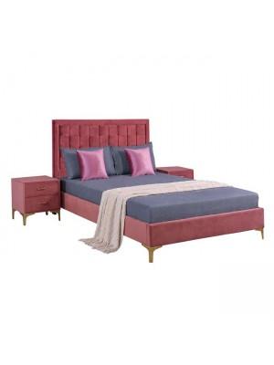 Сет за спалня 3 части цвят пепел от рози HM11265.02