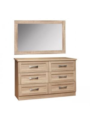Шкаф с огледало цвят сонома HM10172.02