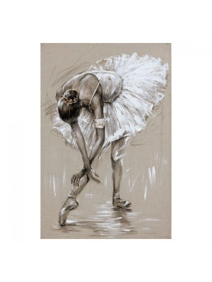 Картина с балерина 60x90x2.8cm
