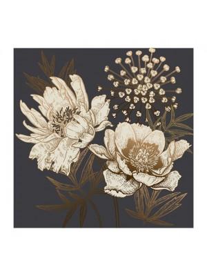 Картина принт цветя 80x80x2.8cm