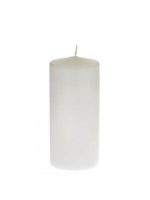 Свещ8x18cmбяло