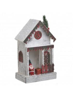 Коледна къщичка с LED осветление
