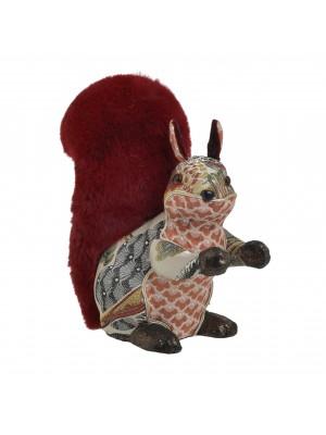 Коледна фигура катерица