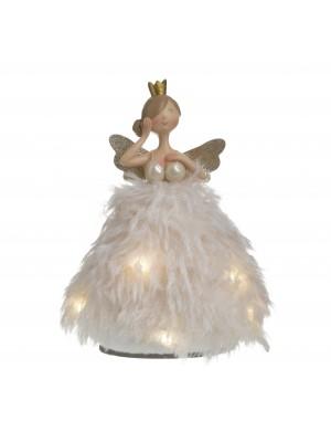 Текстилен ангел с LED
