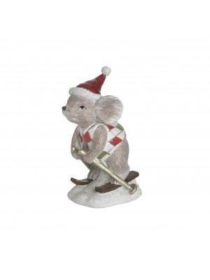 Мишка със ски