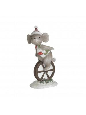 Мишка с моноциклет