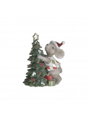 Мишка с елхичка