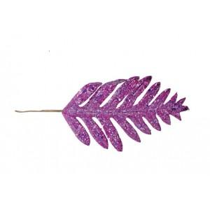 Изкуствени лилави листа