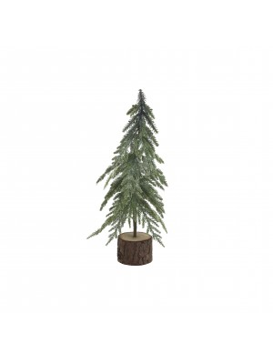 Коледно дърво в кашпа