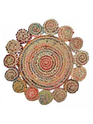 Памучен килим Φ100