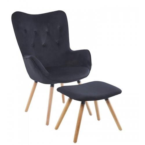 Комплект кресло и табуретка