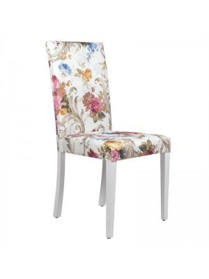 Трапезен стол с цветя