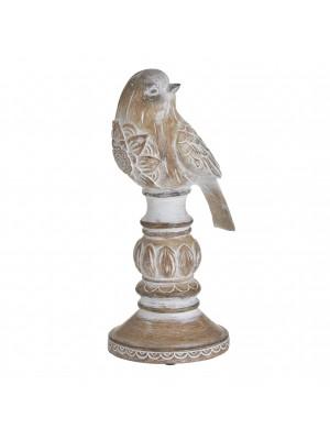 Птичка на стойка от полирезин