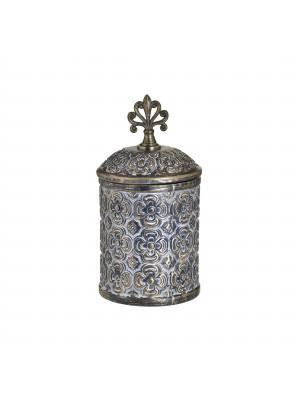 Декоративна ваза с капак