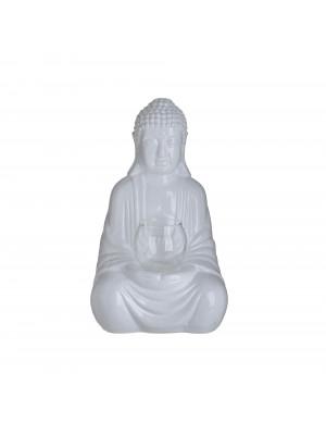 Керамичен свещник Буда