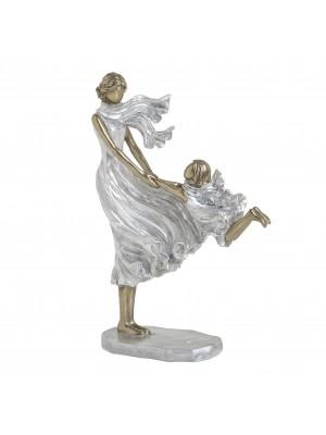 Майка с дете фигури от полирезин