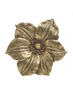 Стенна декорация златно цвете