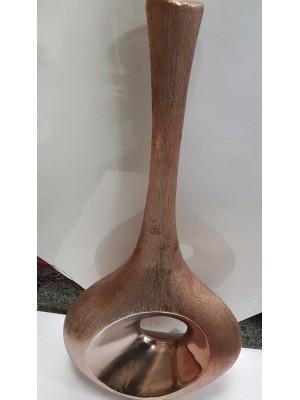 Ваза керамика златна
