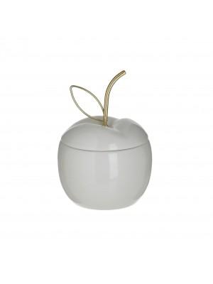 Настолна керамична декорация ябълка