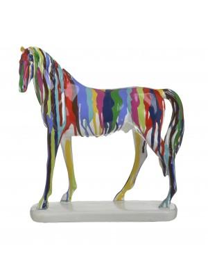 Фигура от полирезин кон