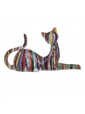Фигура от полирезин котка