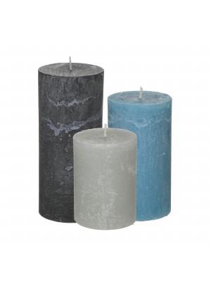 Ароматизирани парафинови свещи сет 3бр