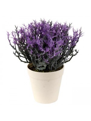 Декоративно цвете с кашпа