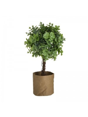 Изкуствено растение в саксия