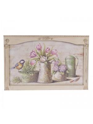 """Картина """"розови цветя"""""""