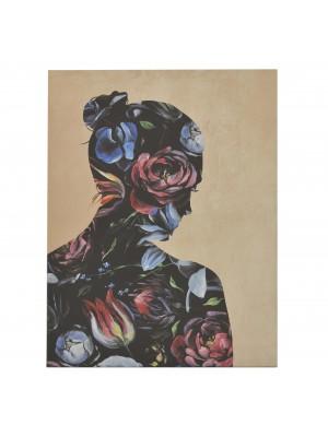 Картина принт женски силует