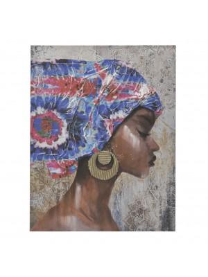 Картина принт женски профил