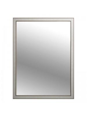 Стенно огледало с кремава рамка
