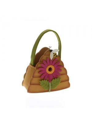 Великденска кошница 15х8.5х17.5см
