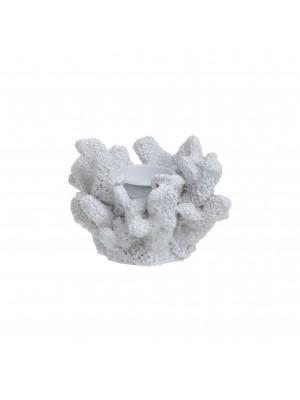 Полирезинов свещник корал