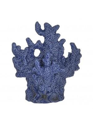 Син керамичен корал