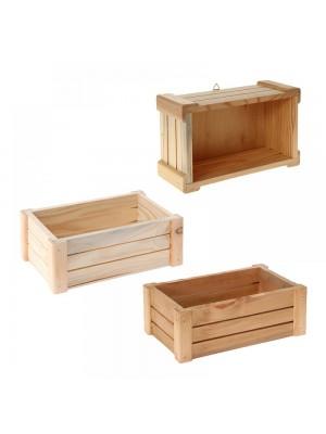Дървена касетка